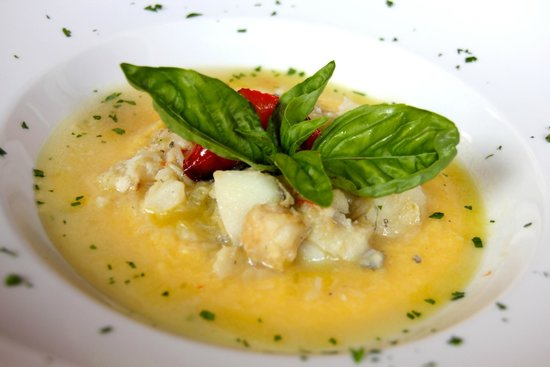 Ristorante Al Cristo: Baccalà con polenta