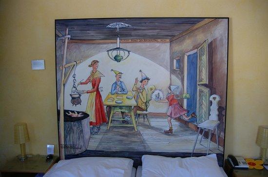 Hotel Garni Chesa Mulin: Zimmer