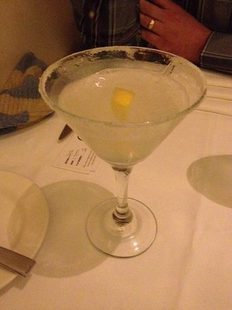 James at the Mill Restaurant: Best thing about the entire meal - The Lemon Drop