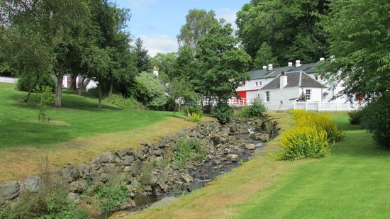 Edradour Distillery: What could be prettier than this for a working distllery