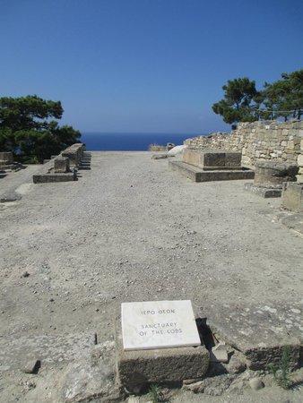 Ancient Kamiros: Santuario degli  Dei