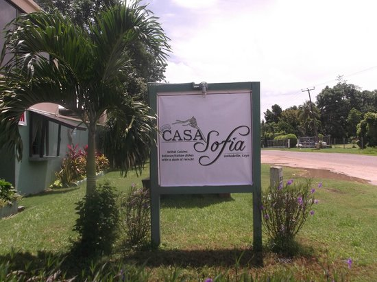Casa Sofia is easy to find! We are at Mile 59 in Unitedville.