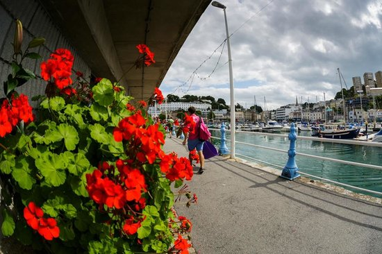 The Somerville: Torquay sea front area