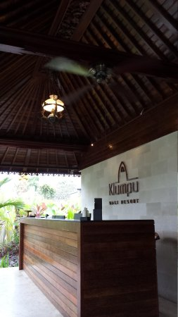 Klumpu Bali Resort: Reception area