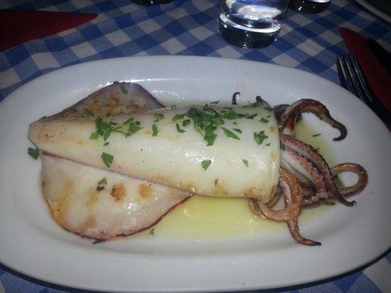 Manolis Taverna: calamaro
