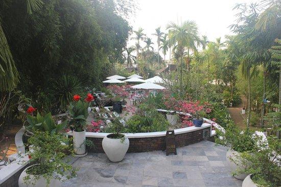 Hoi An Ancient House Resort & Spa : Hotel Ancient House Resort Garten
