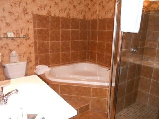 Foley House Inn : Stafford Room Whirlpool and Shower