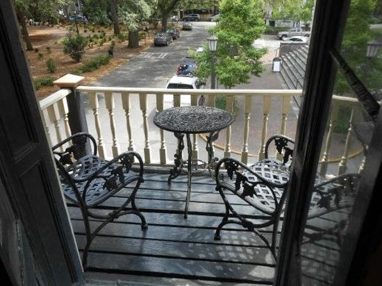 Foley House Inn: Stafford Room Balcony