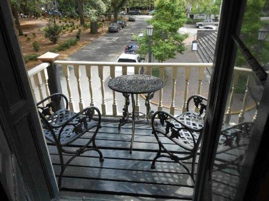 Foley House Inn : Stafford Room Balcony