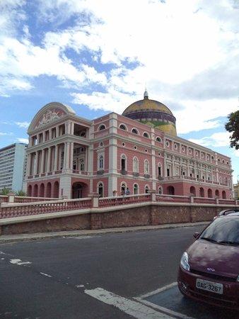 Théâtre Amazonas : Externa