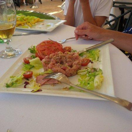 Escuela de Pieter: Tuna tartare was the winner of the day!