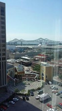 Embassy Suites by Hilton New Orleans - Convention Center: View from suite balcony