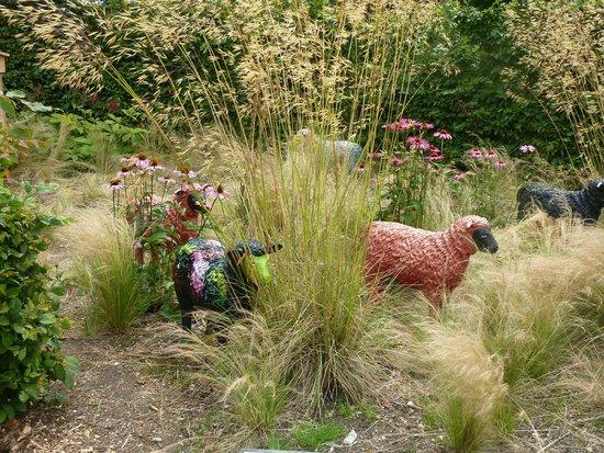 Sussex Prairies Garden: Model Sheep