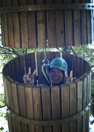 River Riders: crawling on barrels
