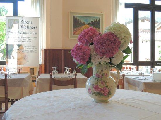 Albergo Sala - Sirena Wellness: sala ristorante