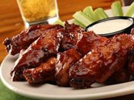 Sticky Fingers: Bourbon Molasses Chicken Wings