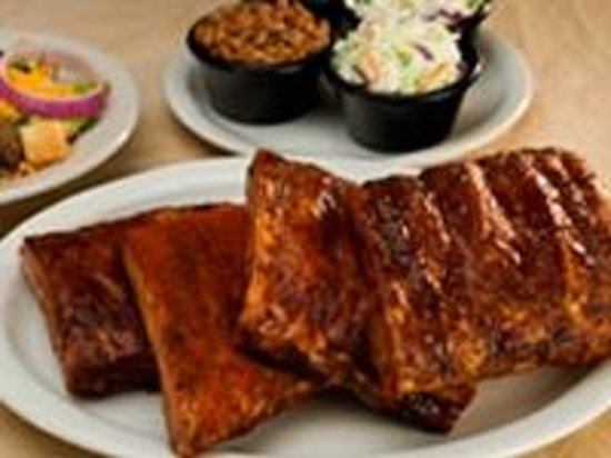 Sticky Fingers: Our Award-winning Hickory-smoked Rib Sampler for Two