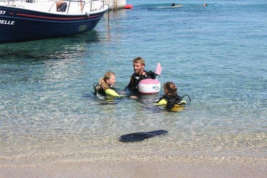 Kalafati Dive Center : Diving with Mark