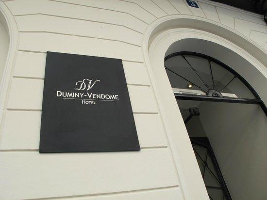 Duminy Vendome: entrata