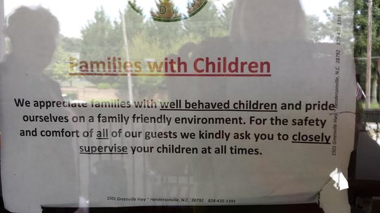 Flat Rock Wood Room: Translation families not REALLY welcome here