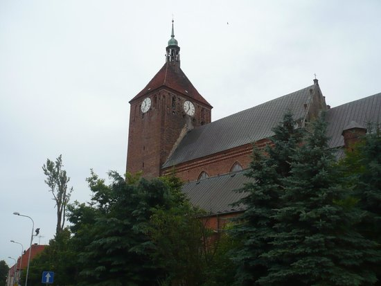 Darlowo, Polonia: View from the street