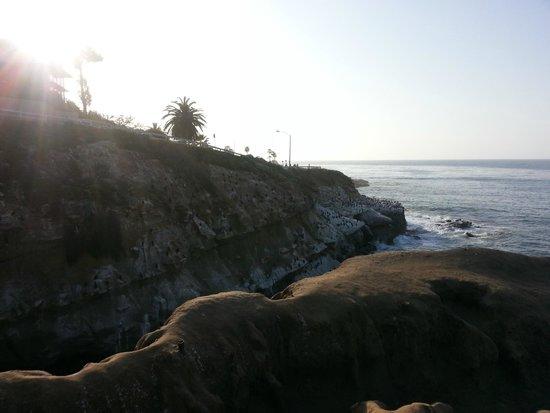 La Jolla Cove: Sunset in la jolla