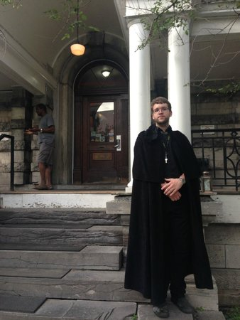 Haunted Walk of Ottawa: Our funny and informative tour guide Jimmy!