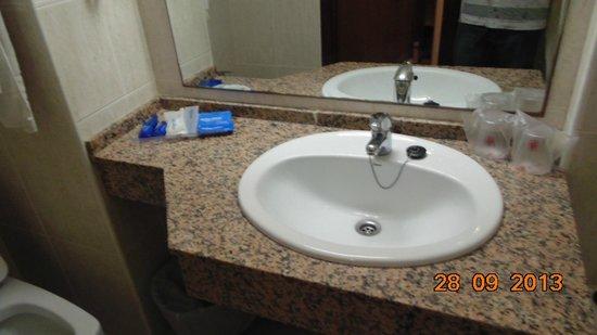 Hotel Best Mediterraneo: ванная