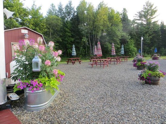 """The Village Grill Co: """" The Village Grill """" outdoor tables"""