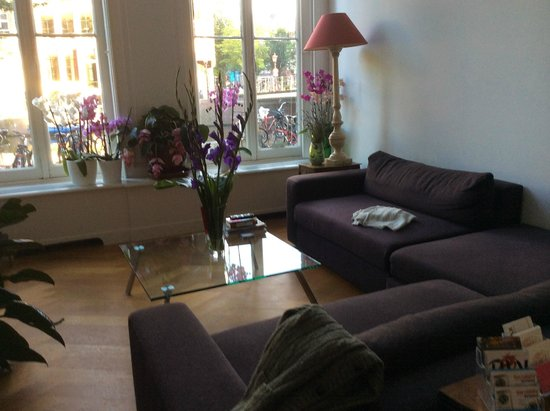 Heren Bed & Breakfast Amsterdam: Guest Lounge
