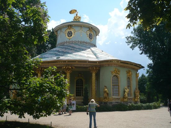 Chinesisches Haus (Chinese House) : View from the park
