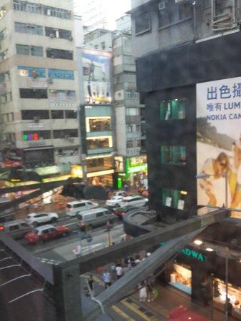 HK Jiang Xi Guest House: вид из окна