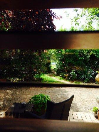 LA LUCQUES MASABELLE : Vue de la chambre