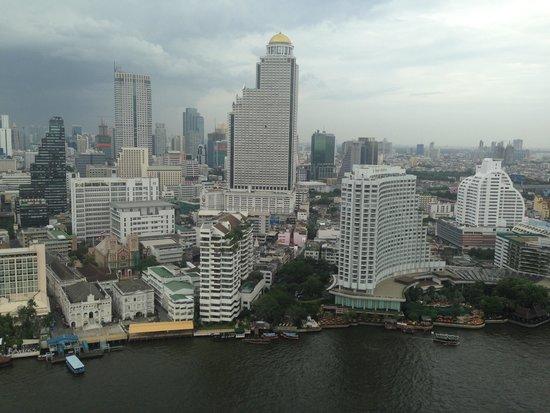 The Peninsula Bangkok: вид из отеля 32 этаж