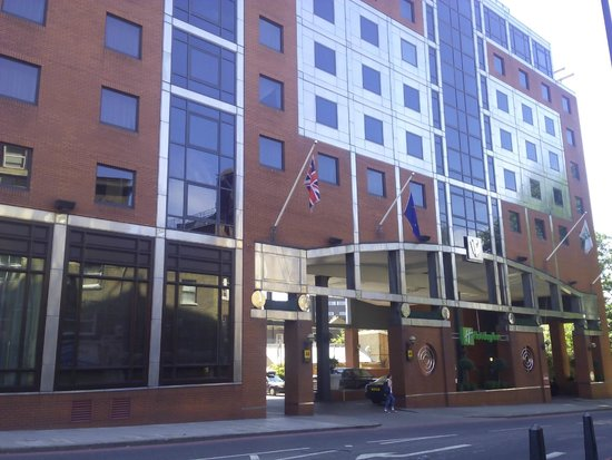 Crowne Plaza London - Kings Cross: Fachada