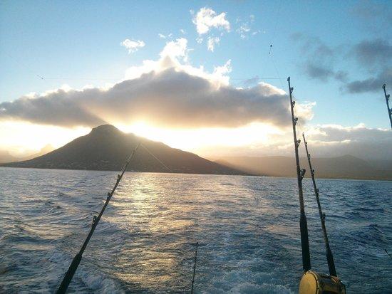 Hooker Deep Sea Fishing: Sunrise