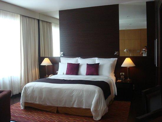 Sukhumvit Park, Bangkok - Marriott Executive Apartments: Espectacular el colchon..!! Se puede descansar comodamente despues de un dia agotador.