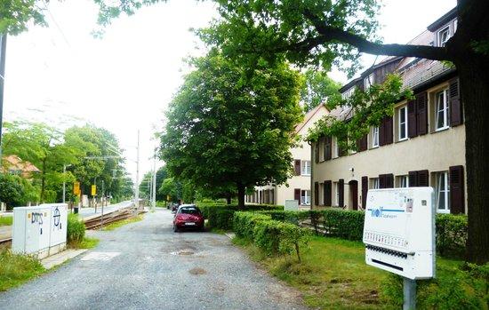 Hotelpension Fliegerhorst: Moritzburger Weg, Hellerau
