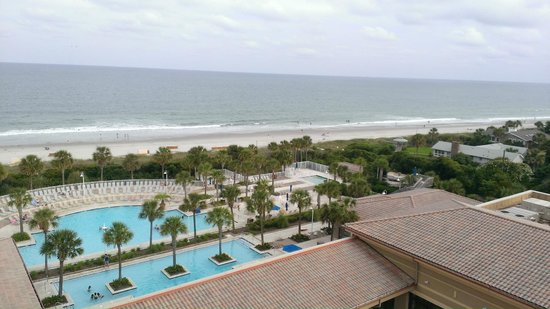 Myrtle Beach Marriott Resort & Spa at Grande Dunes : View from our room