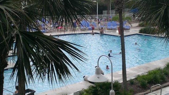 Myrtle Beach Marriott Resort & Spa at Grande Dunes : Pool Area