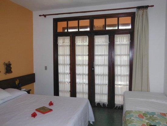 Pousada Ecoporto: Interior do quarto