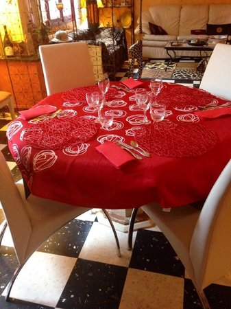LA LUCQUES MASABELLE : Salle à manger