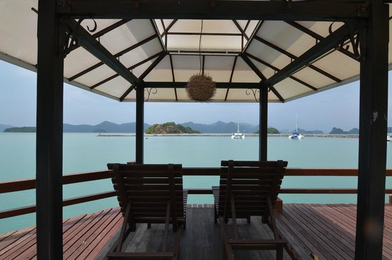 Resorts World Langkawi: view from dining