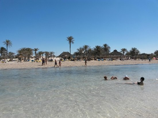 Djerba Golf Resort & Spa: Beach area