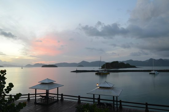 Resorts World Langkawi: sunrise from the balcony