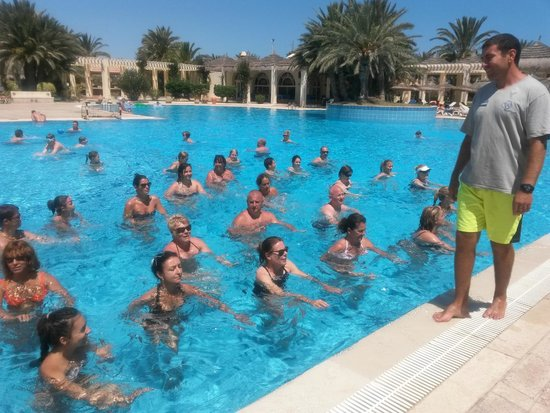 Djerba Golf Resort & Spa: Aquagym