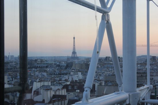 Georges : Balcony view