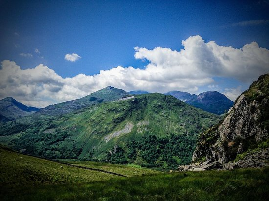 Snowdonia National Park: A view towards Mount Snowdon