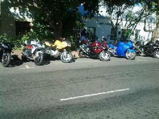 Kalfi's: Bikes on the other side of the road