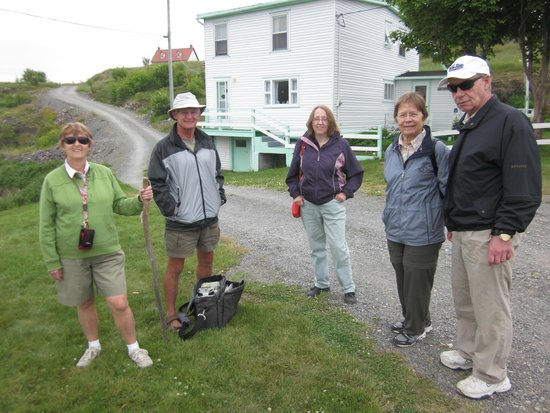 Trinity Historical Walking Tours: Tour group Wed JUly 16, 2014